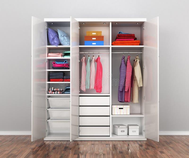 Отсек шкафа шкаф стоковое изображение rf