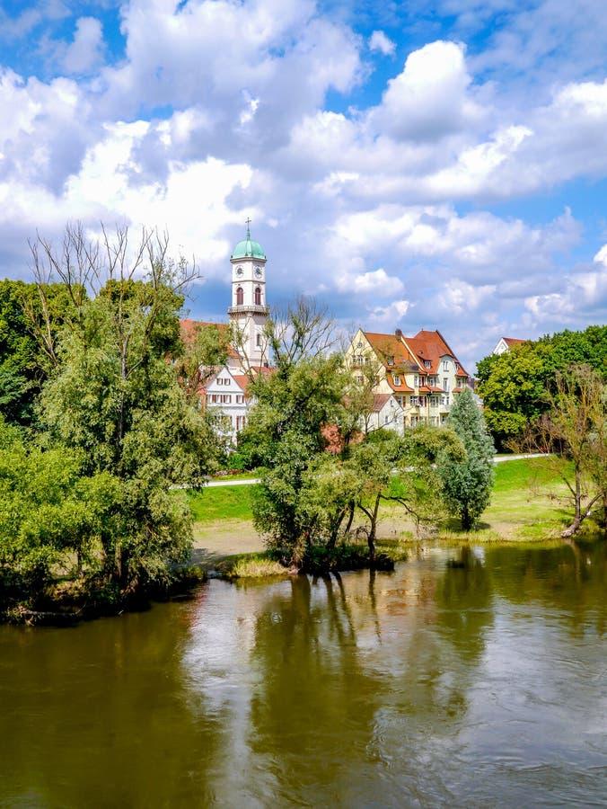 Отступление берега реки стоковая фотография rf