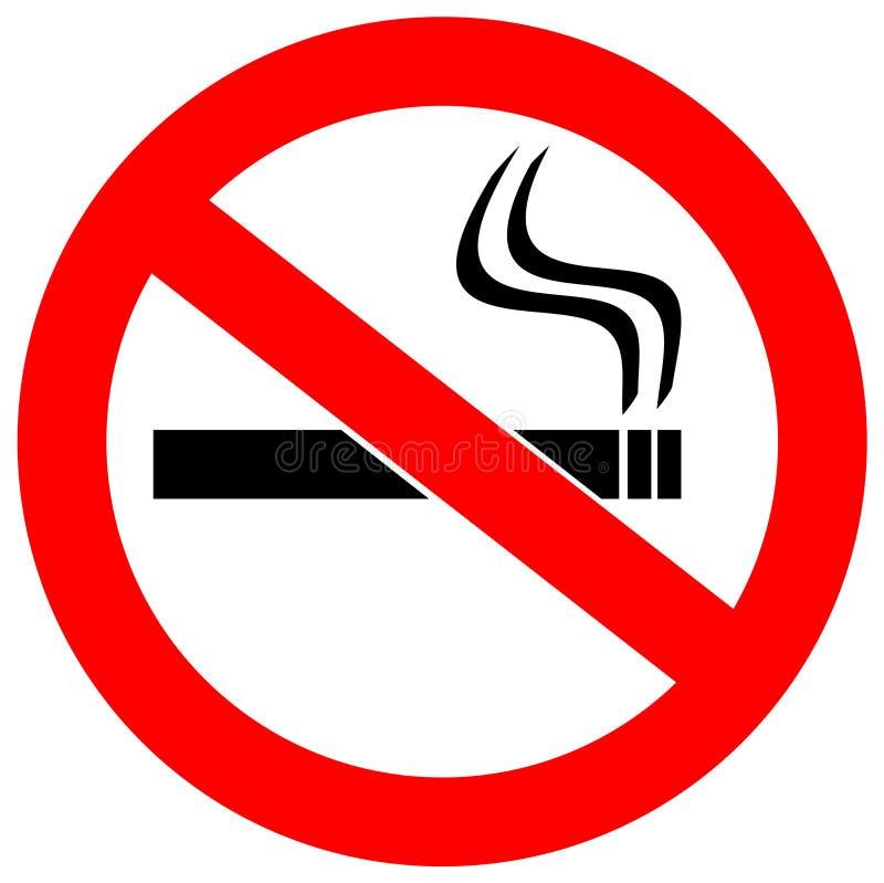 отсутствие курить знака бесплатная иллюстрация