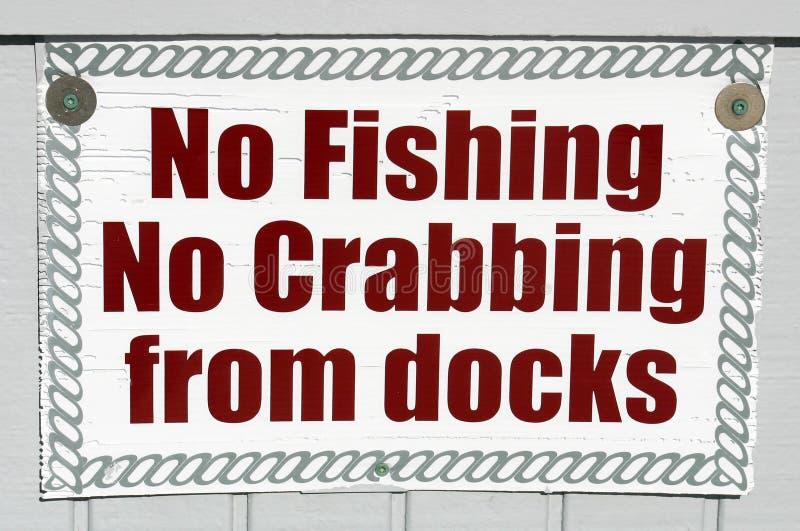 Отсутствие рыболовства стоковые изображения rf