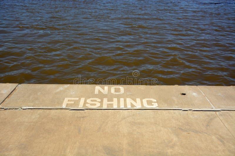 Отсутствие рыболовства стоковое изображение rf