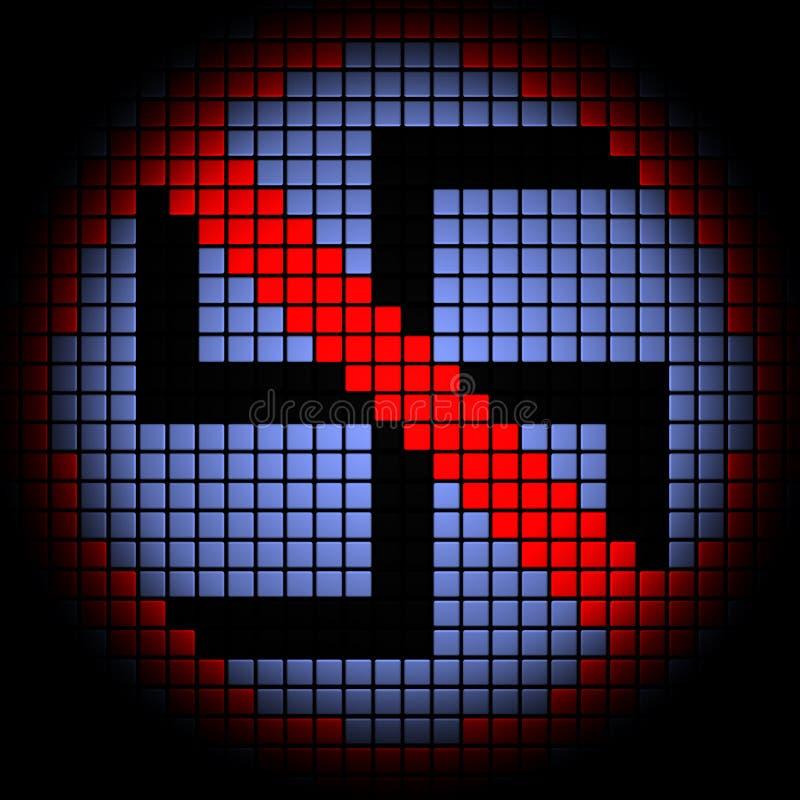 Отсутствие фашизма бесплатная иллюстрация