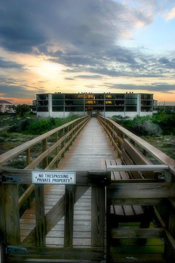 Download отсутствие trespassing стоковое фото. изображение насчитывающей строб - 83342