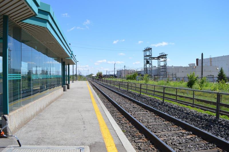 отслеживайте поезд стоковые фотографии rf