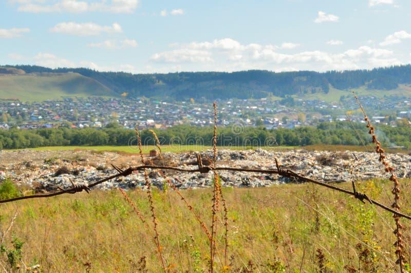 Отход места захоронения отходов стоковая фотография rf