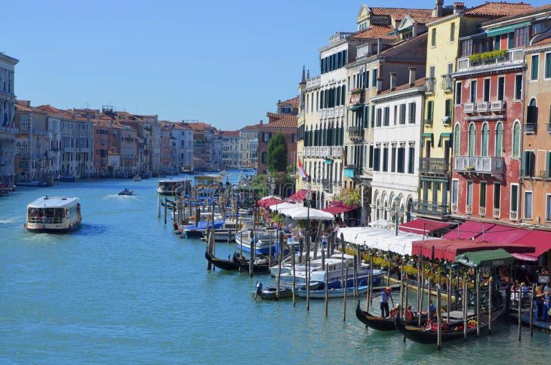 От Венеции с влюбленностью стоковое изображение