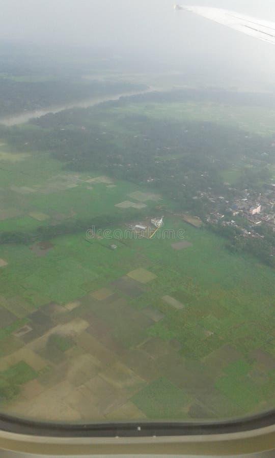 От воздуха стоковое изображение