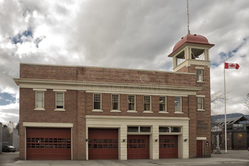 Отделение пожарной охраны Kelowna стоковая фотография