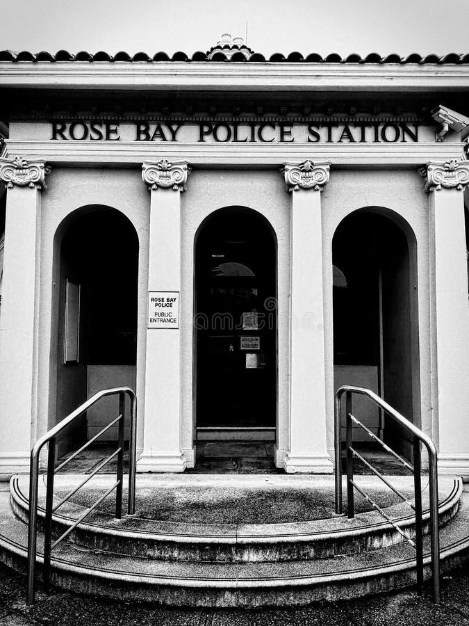 Отделение полици розового залива стоковые изображения