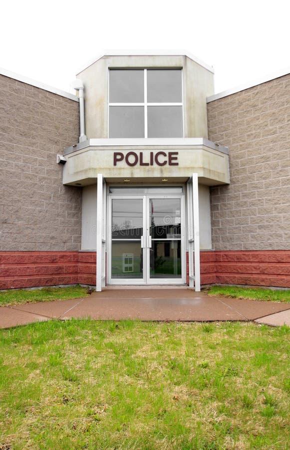Отделение полици стоковое фото