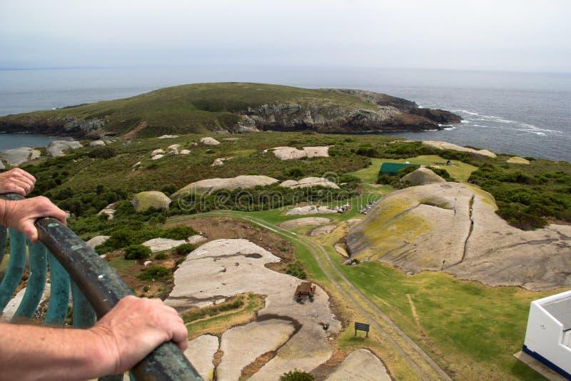 От маяка, остров Montague стоковая фотография