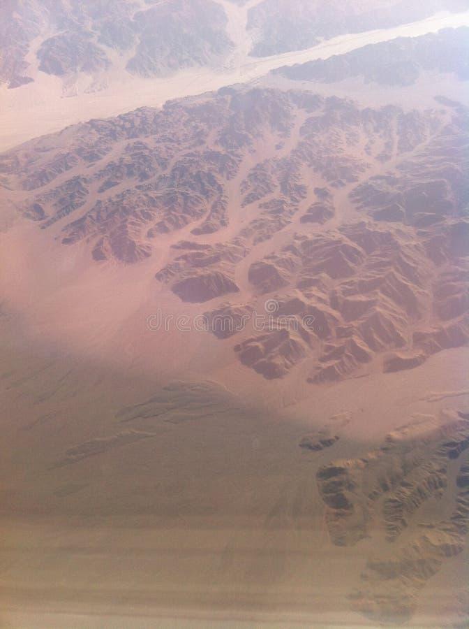 От окна самолета стоковые изображения rf