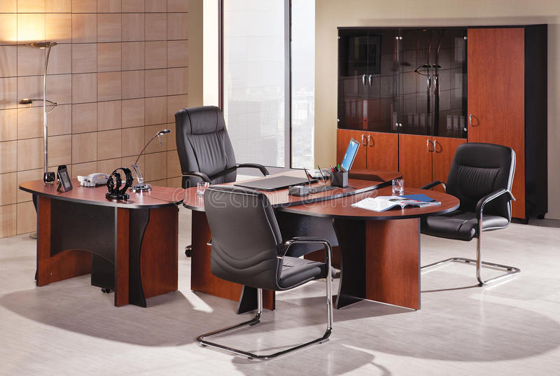 Офисная мебель стоковые изображения rf