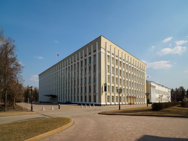 Офисное здание правительства в Nizhny Novgorod стоковое изображение rf