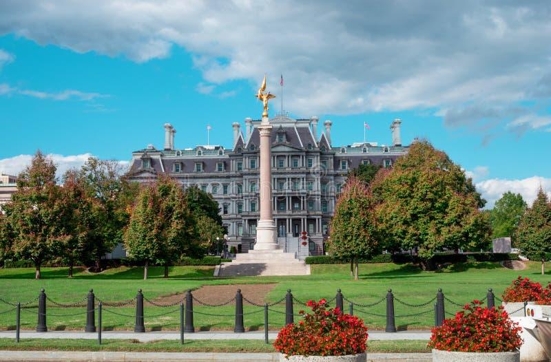 Офисное здание Eisenhower Exectutive в Вашингтоне, DC стоковая фотография