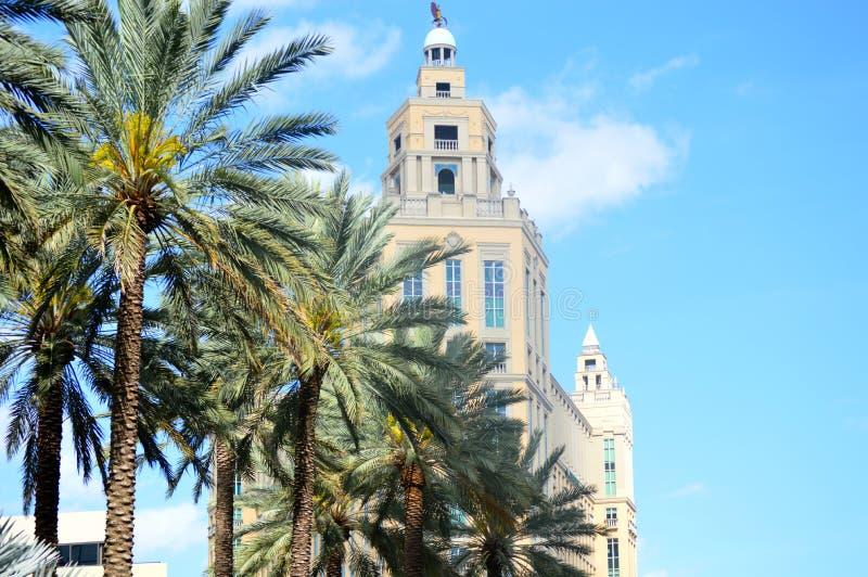 Офисное здание Coral Gables стоковая фотография