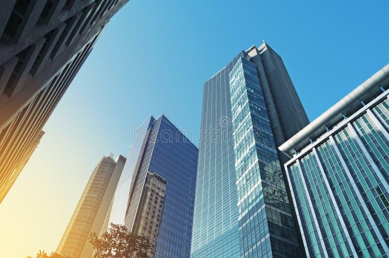 Офисные здания в Makati, Маниле - Филиппинах стоковое фото rf