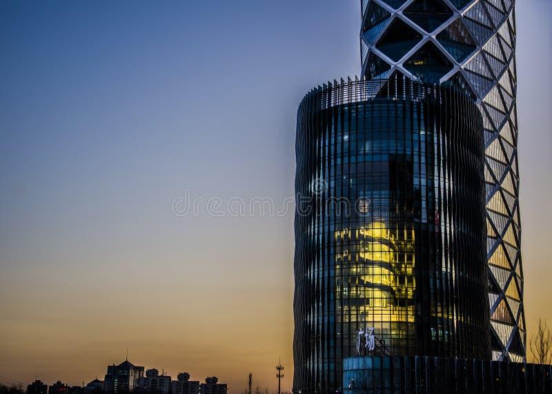Офисные здания, Пекин стоковые изображения rf