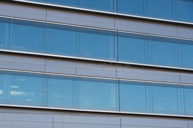 Офисные здания с современной корпоративной архитектурой стоковое фото