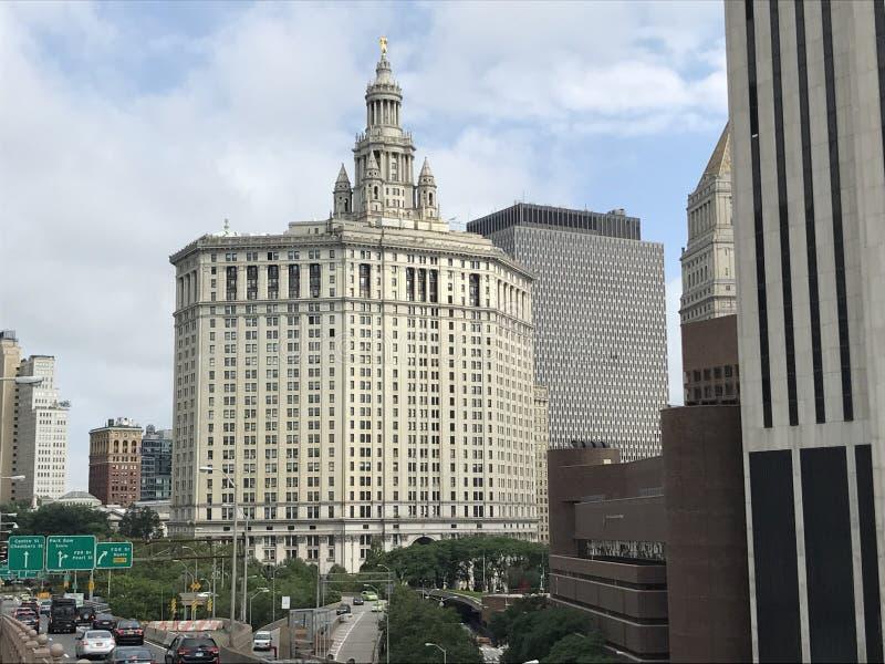 Офисы Нью-Йорка Townhall стоковое изображение