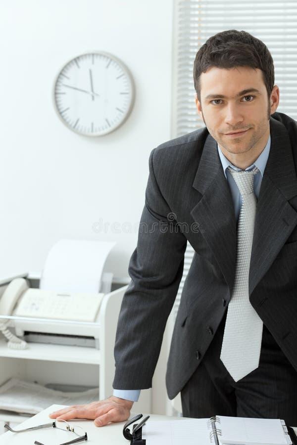 офис бизнесмена стоковые фото