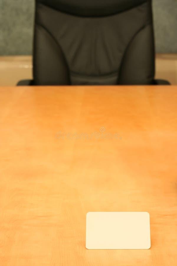 офис визитной карточки стоковые изображения