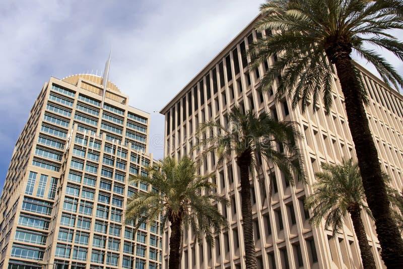 офис зданий корпоративный самомоднейший стоковое изображение