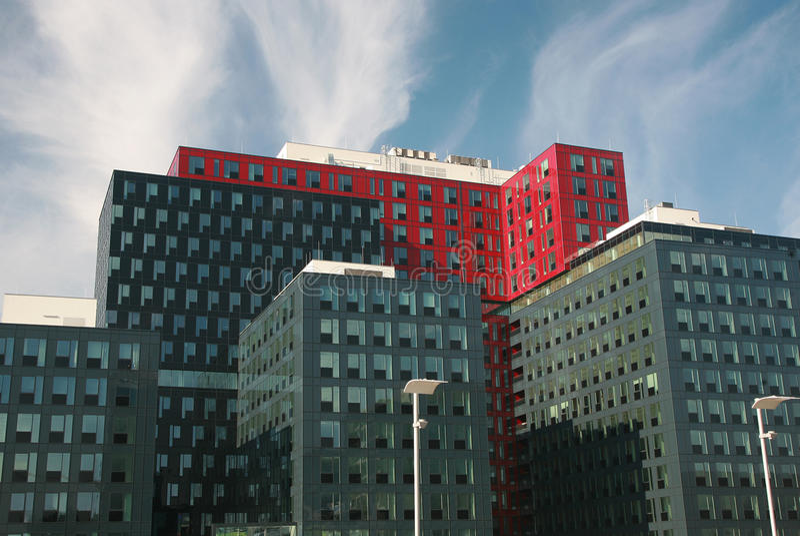 офис зданий самомоднейший стоковое фото rf