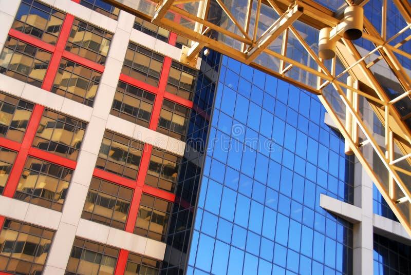 офис зданий самомоднейший Стоковая Фотография RF