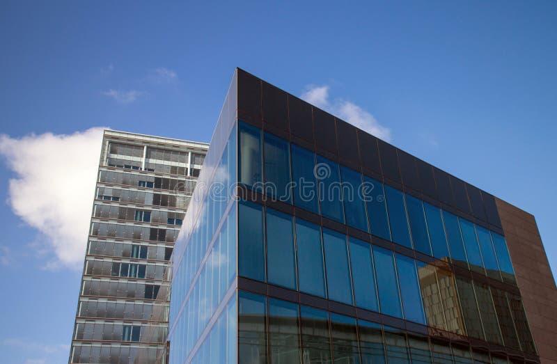 офис зданий berlin стоковые фото