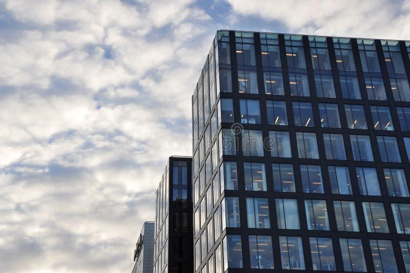 офис зданий berlin стоковое фото rf