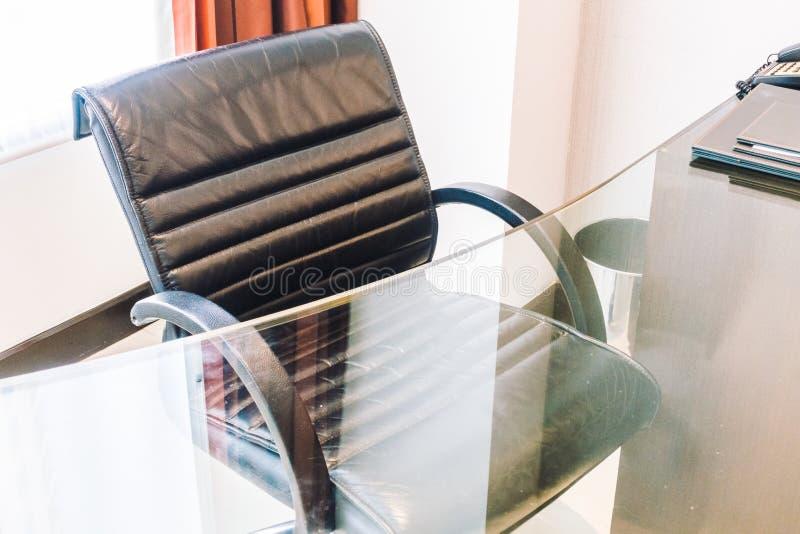 офис кресла черный стоковая фотография rf