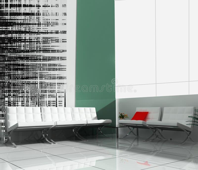 офис мебели банка бесплатная иллюстрация