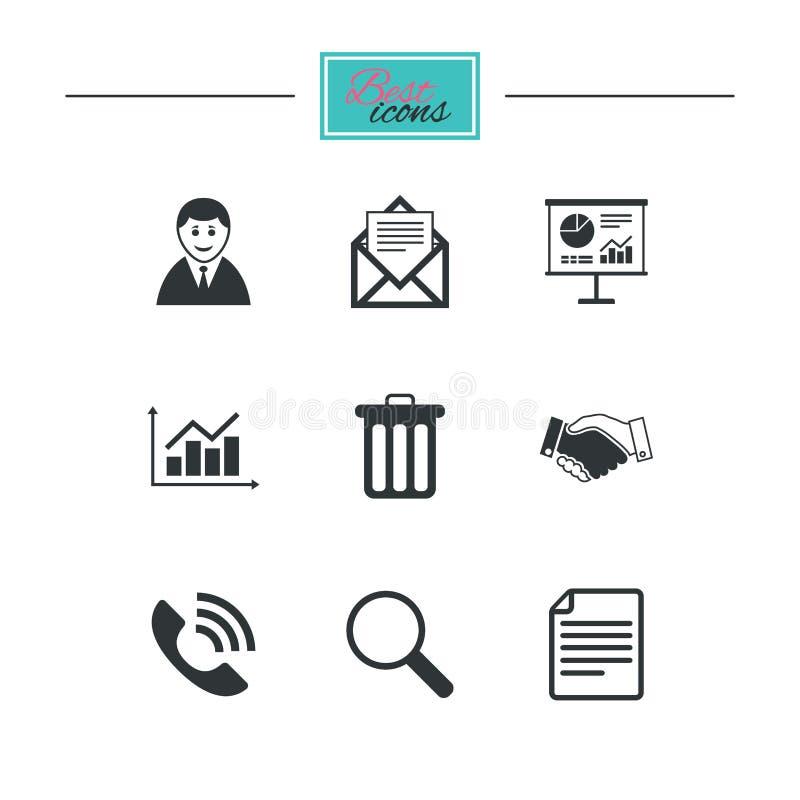 Download Офис, документы и значки дела Иллюстрация вектора - иллюстрации насчитывающей архив, людск: 81804459
