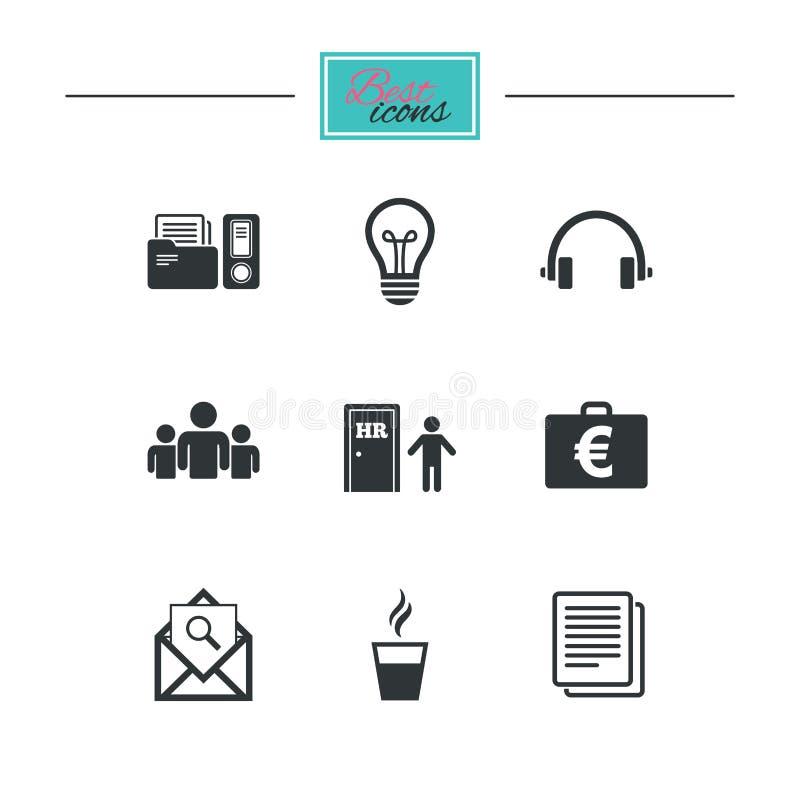 Download Офис, документы и значки дела Иллюстрация вектора - иллюстрации насчитывающей светильник, конструкция: 81804501