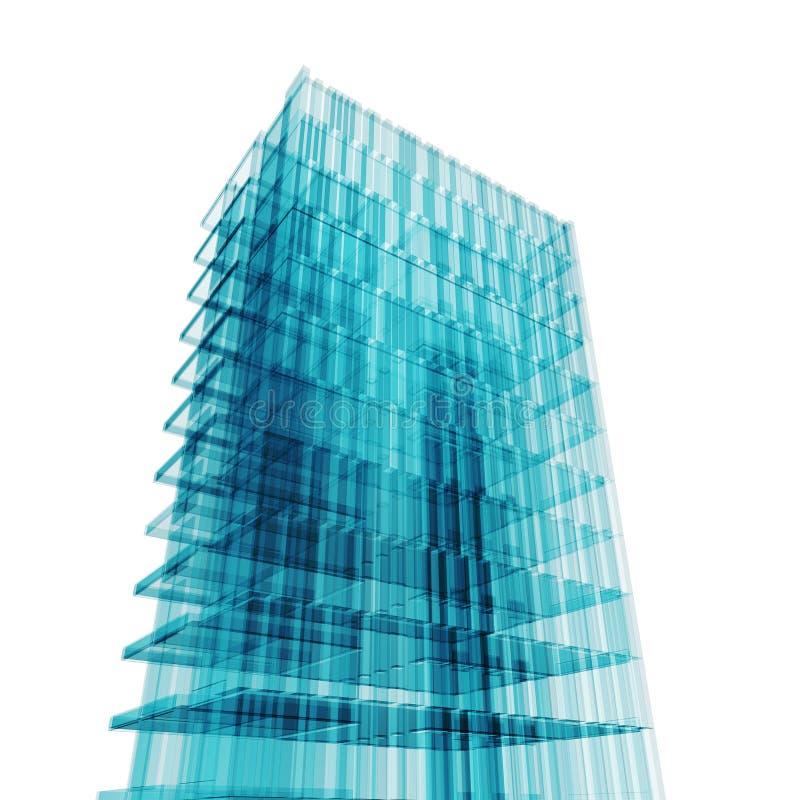 офис принципиальной схемы иллюстрация вектора