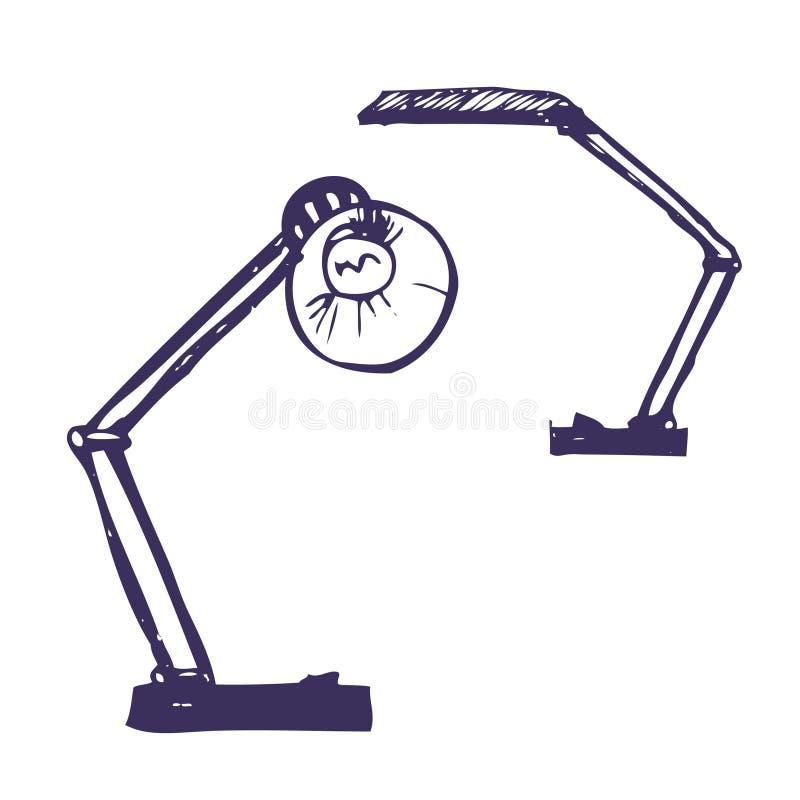 офис светильников иллюстрация штока
