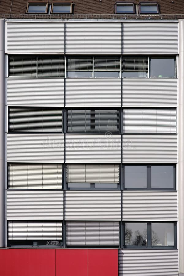 офис фасада здания самомоднейший стоковое изображение rf