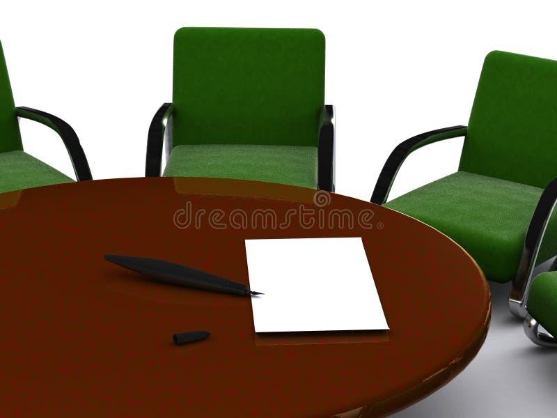 Download офис иллюстрация штока. иллюстрации насчитывающей bargainer - 6860827