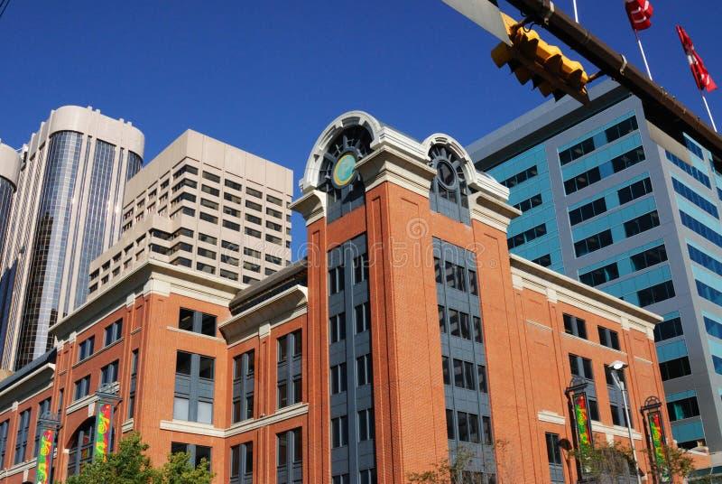 офис calgary зданий городской стоковое фото rf