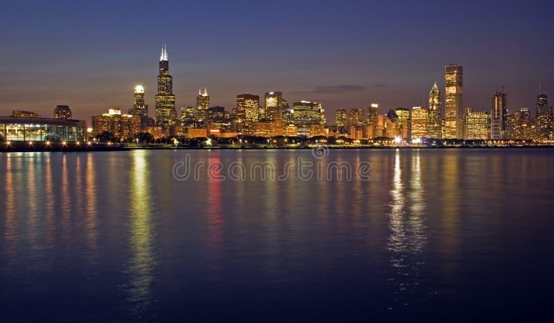 офис chicago зданий стоковые изображения