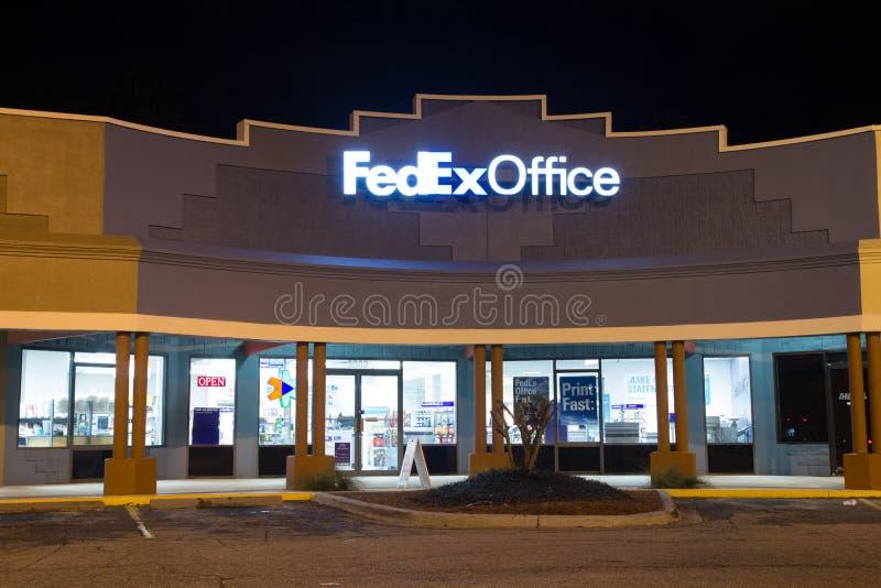 Офис Federal Express стоковые изображения