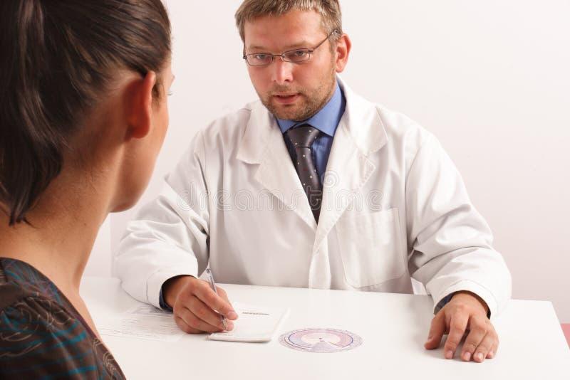 офис s доктора стоковое изображение rf