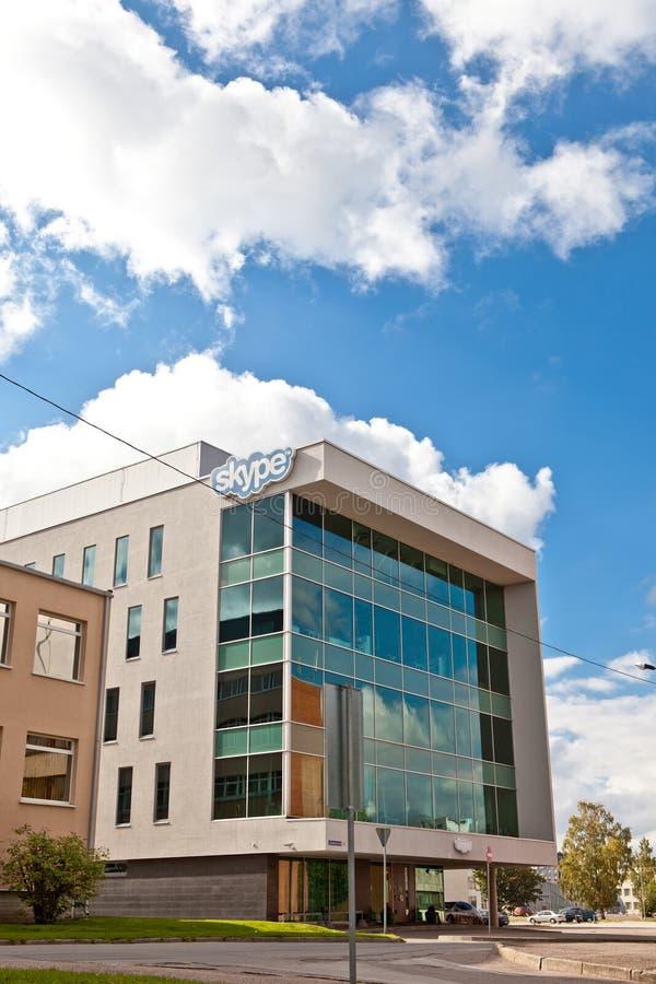 Офис Skype, Таллин стоковая фотография rf