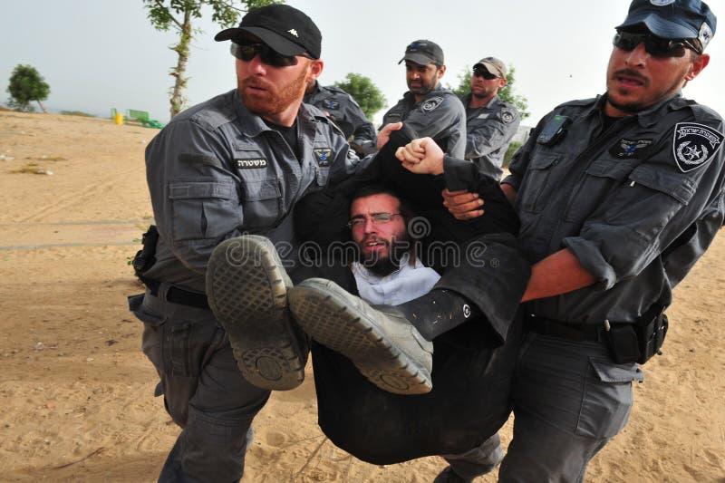 Офицеры Yassam стоковое фото rf