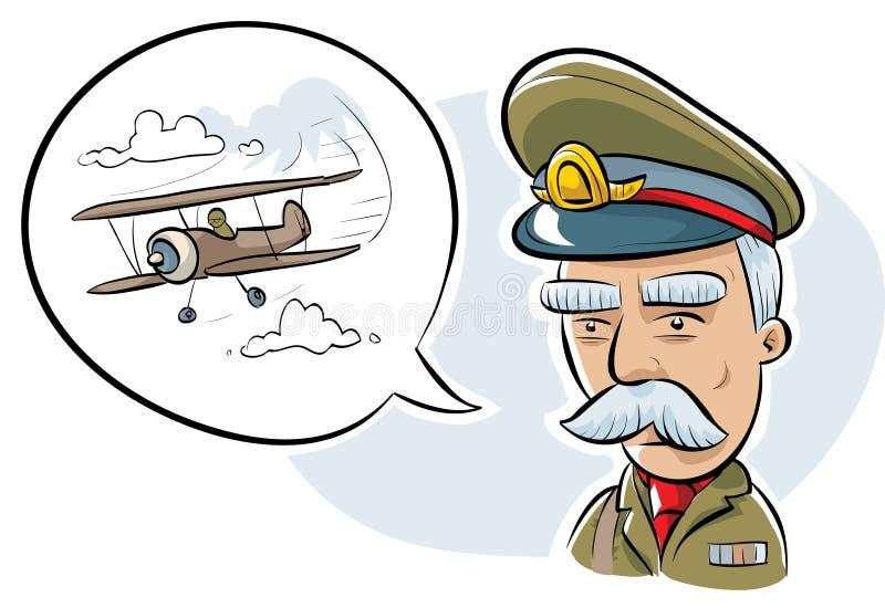 Офицер армии иллюстрация штока