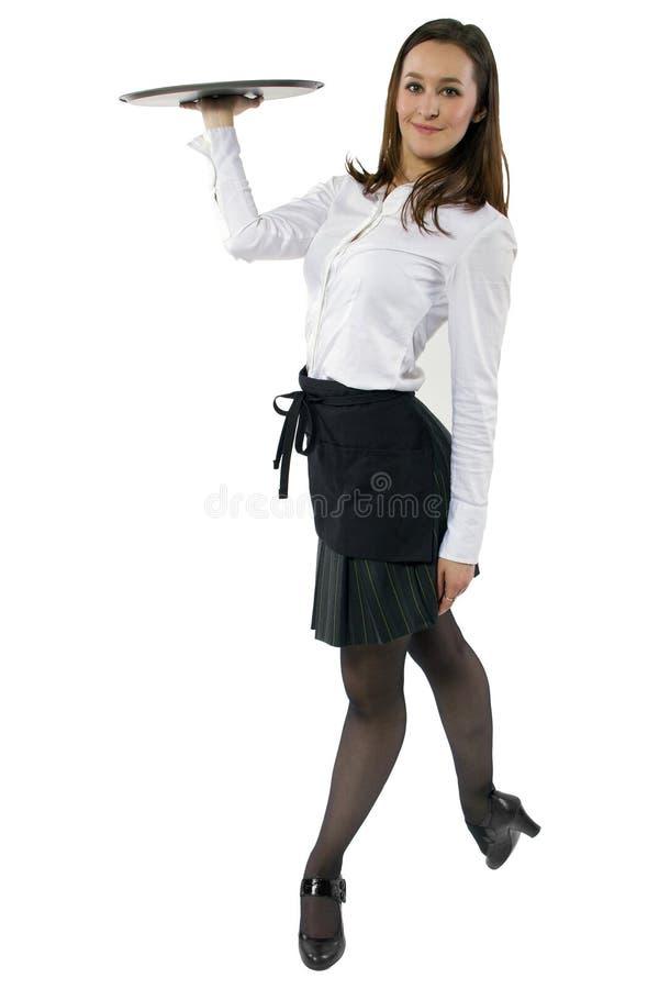 Официантка танцев стоковое изображение