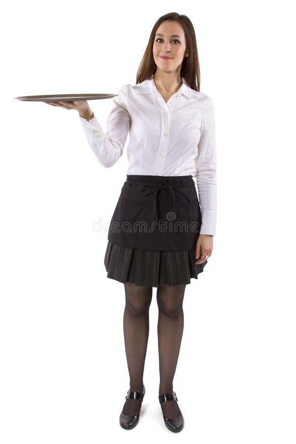 Официантка стоковое фото