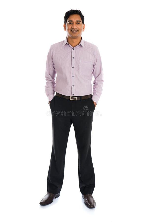 Официально индийский бизнесмен стоковая фотография