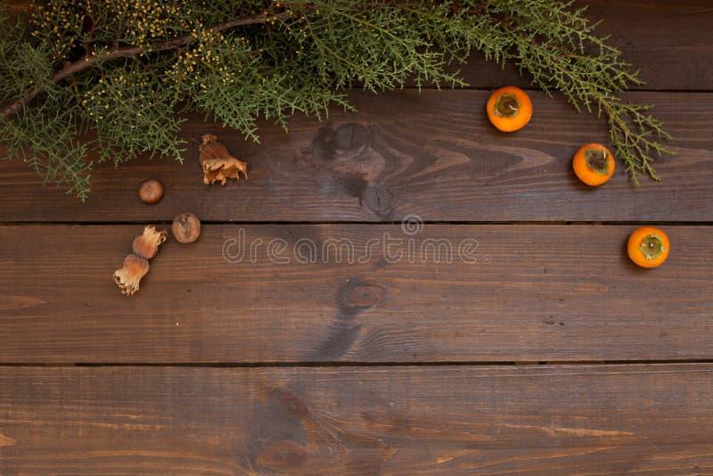 Оформление подарков зимы предпосылки дерева Нового Года рождества стоковое фото